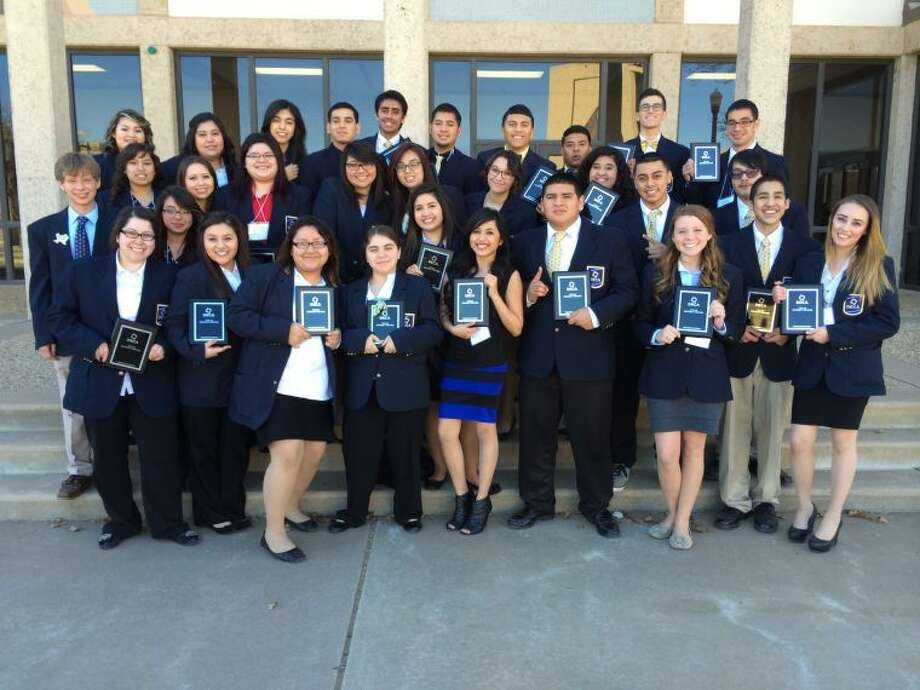 Courtesy photoPlainview High DECA students at the District 8 Career Development Conference held at Wayland Baptist University on Jan. 24.