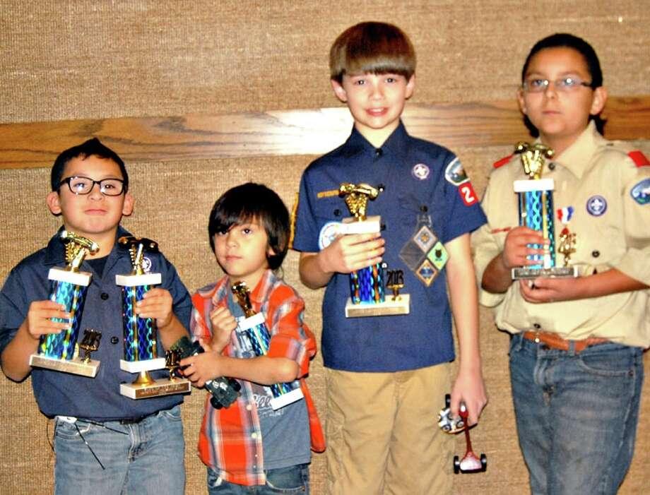 2013 Haynes District Pinewood Derby winners