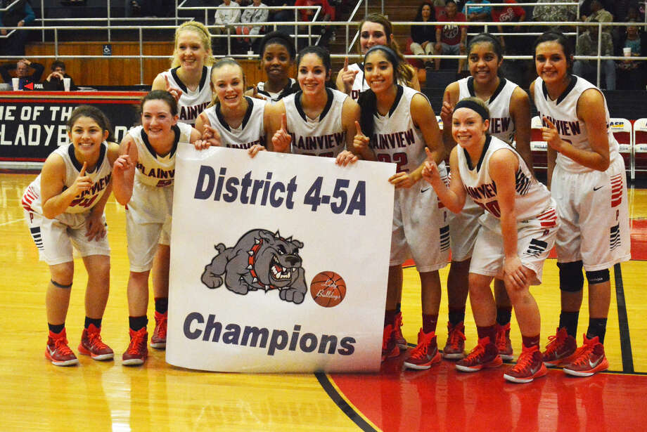The Plainview girls basketball team finished off an unbeaten District 4-5A season with a 60-41 victory over Lubbock High Tuesday. They will take a 13-game wining streak into their bi-district playoff game against Randall at Hereford Tuesday at 6 p.m. Photo: Skip Leon/Plainview Herald