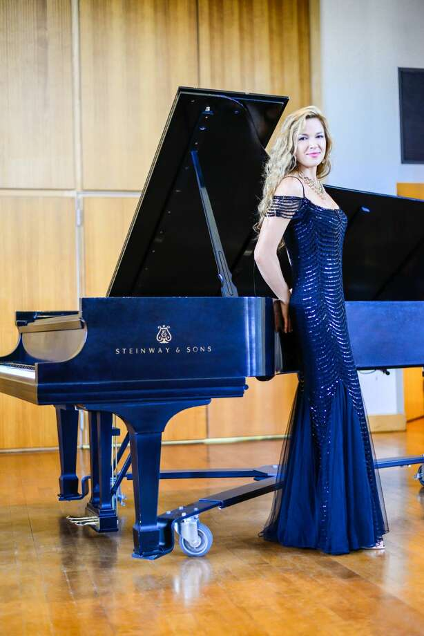 Courtesy Photo Dr. Svetlana Smolina, pianist, is known worldwide for her mastery of technically difficult pieces, well and sensitively played. Photo: Ruben Mariblanca Nieves