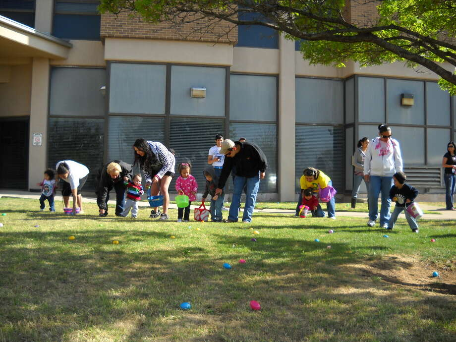 Locals participate in the annual Covenant Easter Egg hunt. Photo: Courtesy Photo