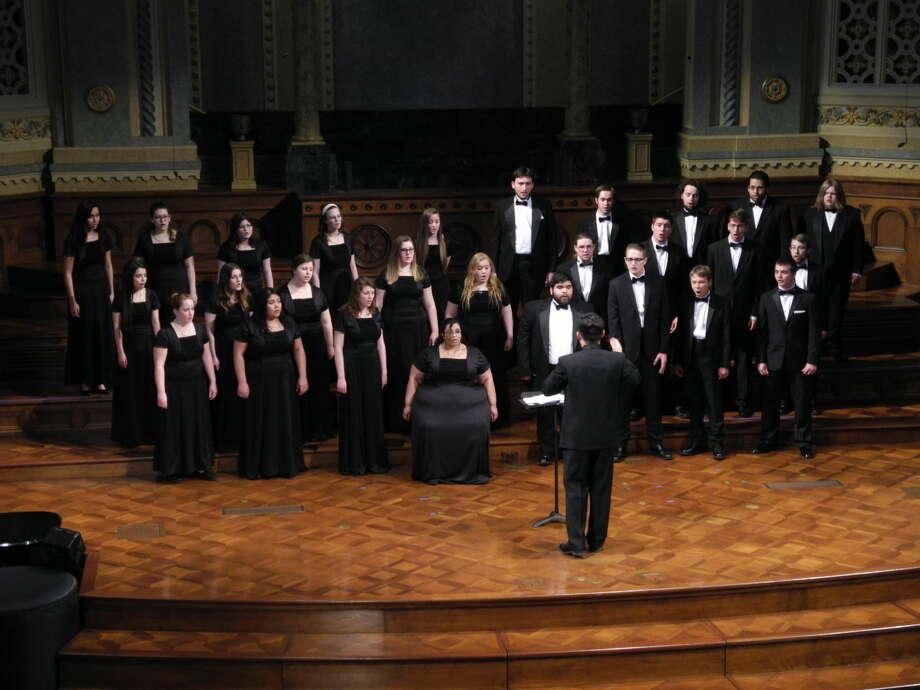 WAYLAND INTERNATIONAL CHOIR Wayland International Choir recently performed at Amarillo Baptist Church during its 2016 Choir Tour.
