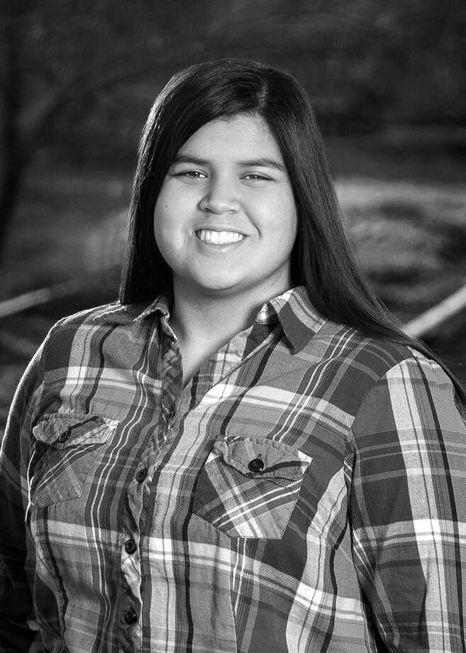 Lauren Aguirre, a Plainview High School senior, is the Plainview Rotary Club's Student of the Month. She has been a student athletic trainer for four years, including two years for varsity football and one year for varsity girls basketball. She has been a member of HOSA for one year, Hale County Jr. Literacy Council for two years, serving as mass texter, National Technical Honor Society for one year, FCCLA for one year, and has received the Merit P Award for scholastic achievement three times. Aguirre is a THSCA Academic All-State Award Honorable Mention and is a concurrent student at Wayland, enrolled in English. She's a member of College Heights Baptist and works as a carhop at the Downtown Sonic. Her hobbies include watching Harry Potter movies and listening to both county and pop music. Upon graduation, Aguirre plans to attend Wayland her first year before transferring to Texas Tech working toward a career in business.