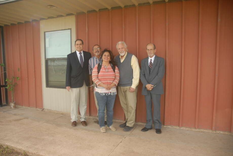 Providing a place to break the bonds of addiction, counselors at Plainview Serenity Center are ready to help individuals on the road of recovery. Pictured from left are Paul Walker, licensed counselor/CEO; Joe Alfaro, program manager; Guillerma Gonzales, recovery coach; Sam D, Parker, licensed counselor for men; and John Kurt Caddel, licensed counselor for outpatient clinics. Photo: Homer Marquez/Plainview Herald