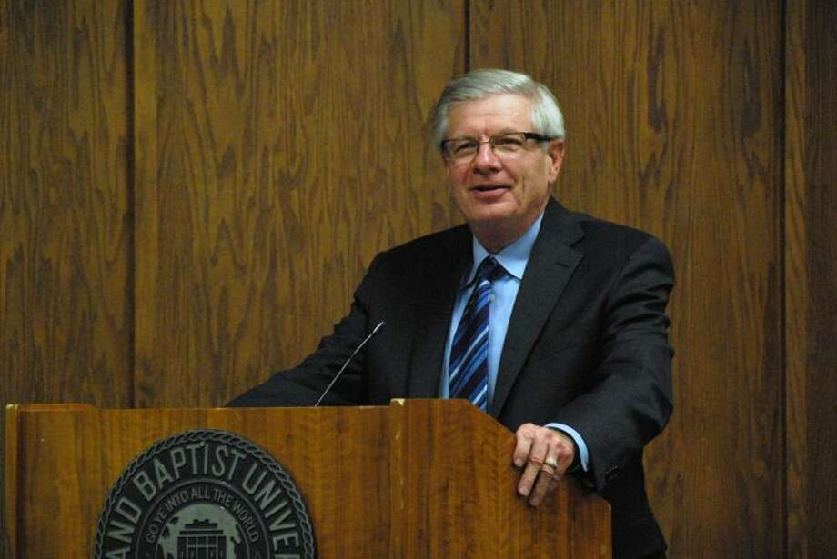 Wayland Baptist University PhotoDr. Thomas Brisco, provost and chief academic officer at Hardin-Simmons University in Abilene, served as guest speaker for Wayland Baptist University's Willson Lectures.