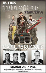 Big Weekend free concert to feature Rapture Ruckus - Plainview Daily