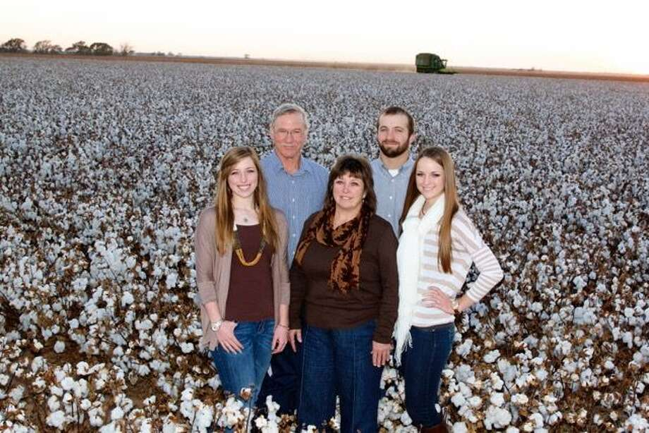 Farming the family land in Floyd County is the Miller family, made up of (from left) Sarah Jo, Lyle, LaTresa, Titus and Abigail Miller. Photo: Courtesy Photo