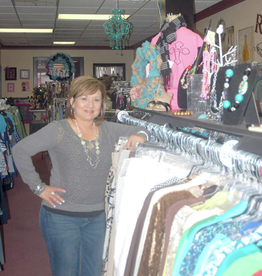Ruth Gonzales, owner of RuRu's Kloset, overcomes natural anxieties to open dream business. Photo: Homer Marquez/Plainview Herald