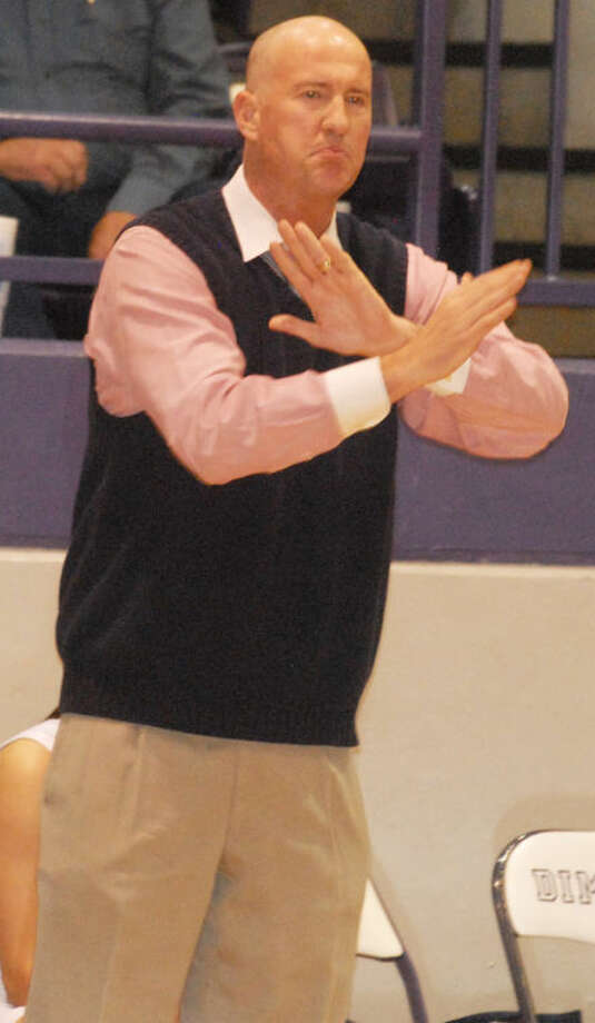 Plainview girls basketball coach Danny Wrenn was named South Plains Coach of the Year for Class 5A and 4A by the Lubbock Avalanche-Journal. Photo: Skip Leon/Plainview Herald