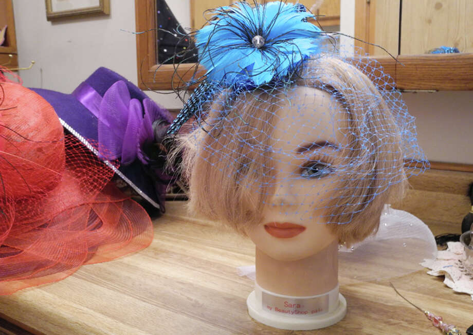 Unable to find hat pins nowadays, Earlene Houx began to design her own to go with her hats. Photo: Gail M. Williams | Plainview Herald