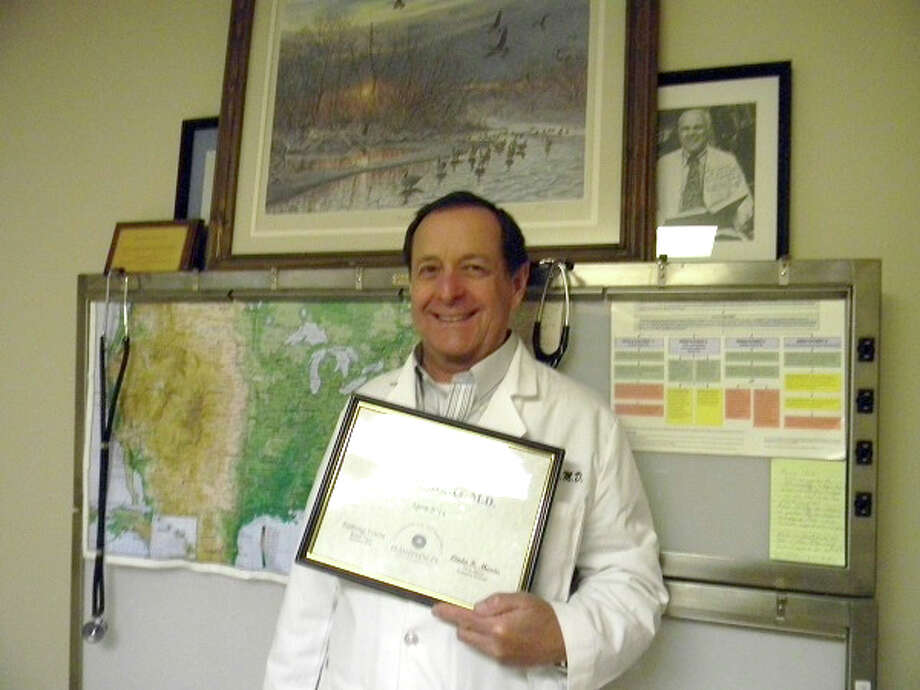 Doug McDonough/Plainview HeraldThe medical office of Dr. Michael T. Graves is the Chamber of Commerce Business of the Month for April. Dr. Graves has practiced in Plainview for almost 30 years and specializes in adult and pediatric urology. His office is located at 2404 Yonkers, Suite 8, and he has a staff of three. Dr. Graves is a Diplomate with the American Board of Urology. He is a member of the Plainview Rotary Club and is international president of the Fellowship of Flying Rotarians. He also is an avid glider enthusiast and has flown numerous missions to Mexico to take much-needed medical supplies to the needy.