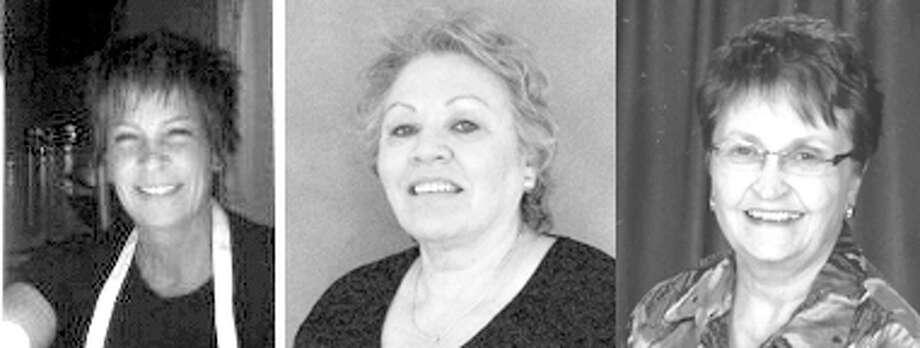 Janet Smith, Gloria Gomez, Sue Lewellen