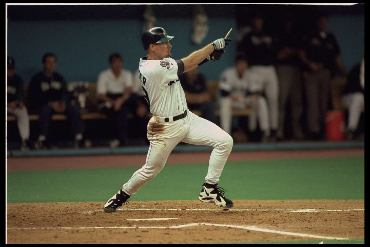 8. Jay Buhner, outfielder Stats in 14 seasons: 1,440 games, .255/.360/.497, 1,255 hits, 307 home runs, 951 RBIs After the Yankees traded the 23-year-old to Seattle in 1988, he became a mainstay in right field at the Kingdome and in the middle of a fearsome Mariners lineup that made the playoffs for the first time in 1995.
