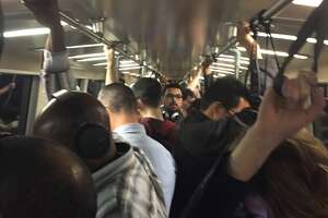 BART has gotten much more crowded in recent years. Now, odds are slim you're going to sit if you're traveling during rush hours in the morning or evening.