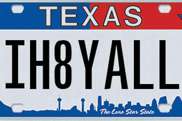 These are some of the personalized license plates the Texas Department of Motor Vehicles has rejected since January 2016.