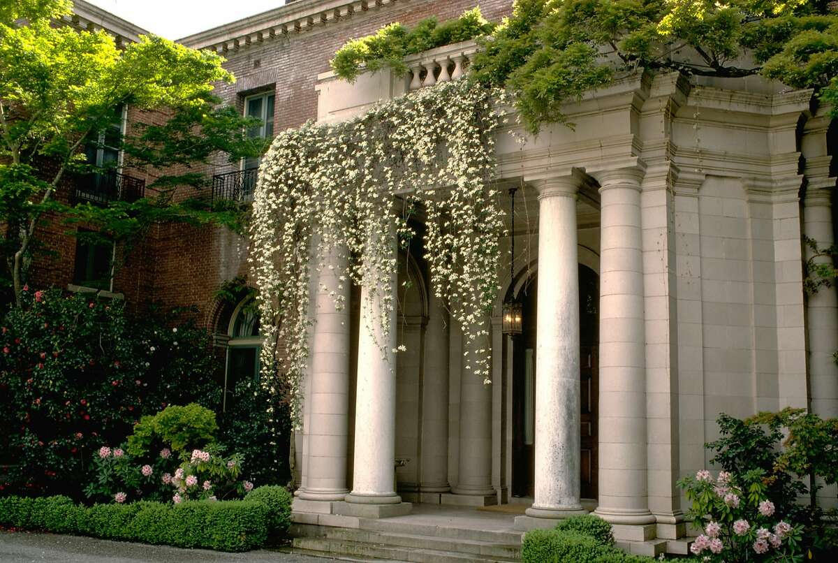 An exterior of Filoli in Woodside.
