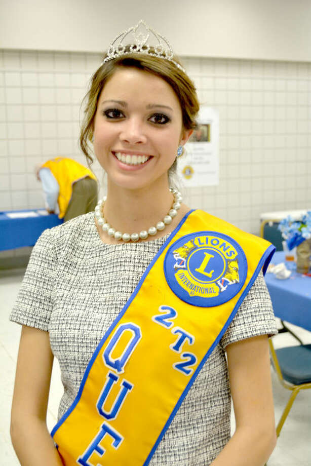 Doug McDonough/Plainview HeraldStephanie Ramirez, representing the Olton Lions Club, was crowned District 2-T2 Lions Queen on Saturday at the Lions District 2-T2 Convention at Wayland Baptist University. A senior at Olton High School, she is the daughter of Uriel and Gricelda Ramirez of Olton. She plans to enroll at Texas Tech University this fall and major in retail management. Hannah Smith from the Snyder Lions Club was crowned princess.