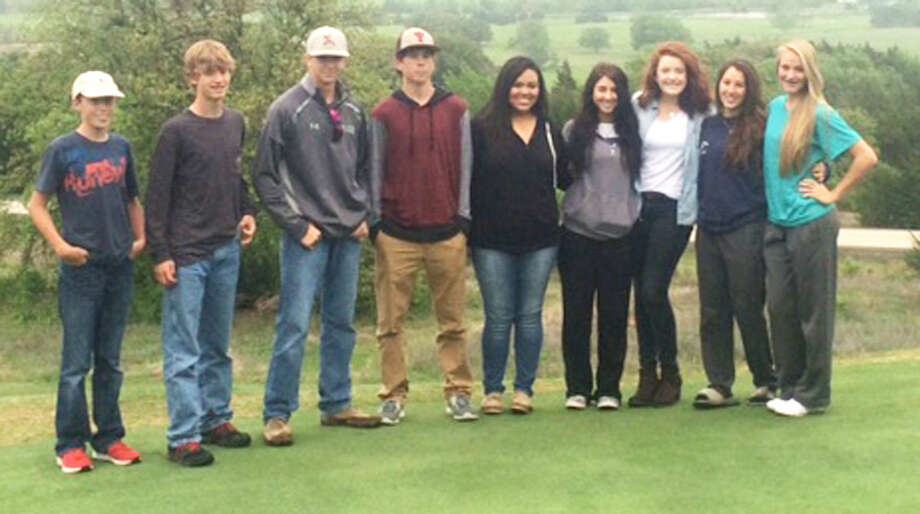 The Plainview Christian Academy boys and girls golf teams qualified for Monday's regional tournament in Allen. The girls won the district championship and the boys finished third as a team.  Photo: Courtesy Photo