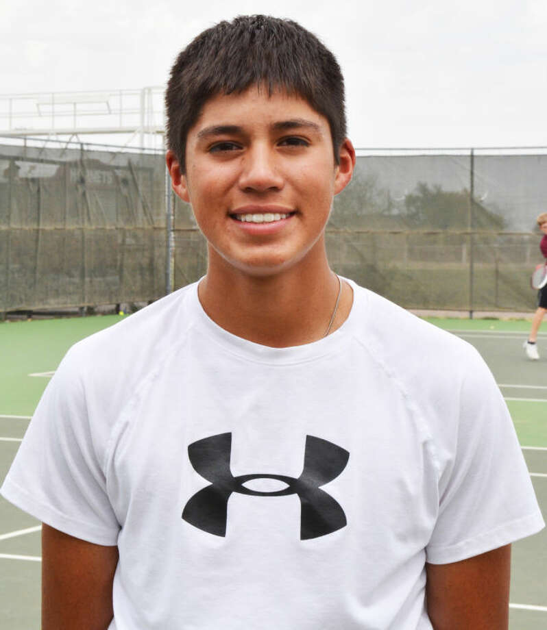 Tulia sophomore Carlos Subealdea was the Class 2A runner-up in boys singles at the UIL State Tennis Championships in College Station Tuesday. Photo: Skip Leon/Plainview Herald