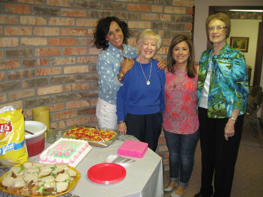 After nearly 30 years in real estate, Pat Ryan announced her retirement, saying goodbye to her second family at Billington Real Estate. Pictured are fellow Realtors Cyndy Walter (left), Pat Ryan, Veronica McClanahan and Florence Carlisle. Other Realtors not pictured are Raby Garrett, Mike Ferguson, Jeanine Brunson, Mike Williams, Cindy Billington and Keith Billington, owner/broker. Photo: Courtesy Photo