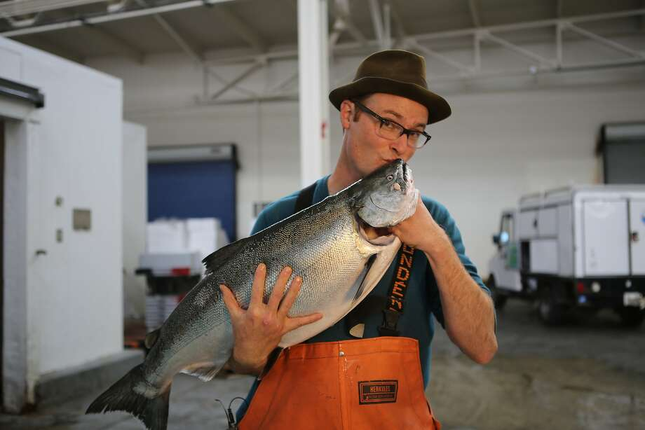 Sea Forager's Kirk Lombard Photo: Kat Covell /Special To The Chronicle