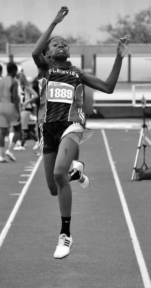 Plainview freshman Kaizha Roberts was named to the Texas Girls Coaches Association Class 4A all-state track team. Photo: Photo Courtesy Of Albert Gomez Photography