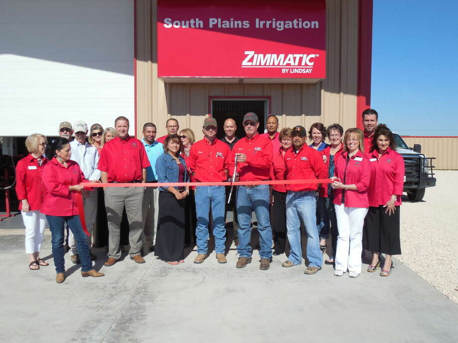 Ribbon CuttingRoijon Johnson/Plainview HeraldSouth Plains Irrigation had a ribbon cutting on Friday, May 1 at its new Plainview location, 1408 S. I-27 (west service road). A Zimmatic by Lindsay dealer, the Olton firm opened a second location, in Plainview, due to the number of customers in the immediate area, and will have a full line of parts and service available at both stores. Daniel Smith is owner and Craig LaDuke is manager.