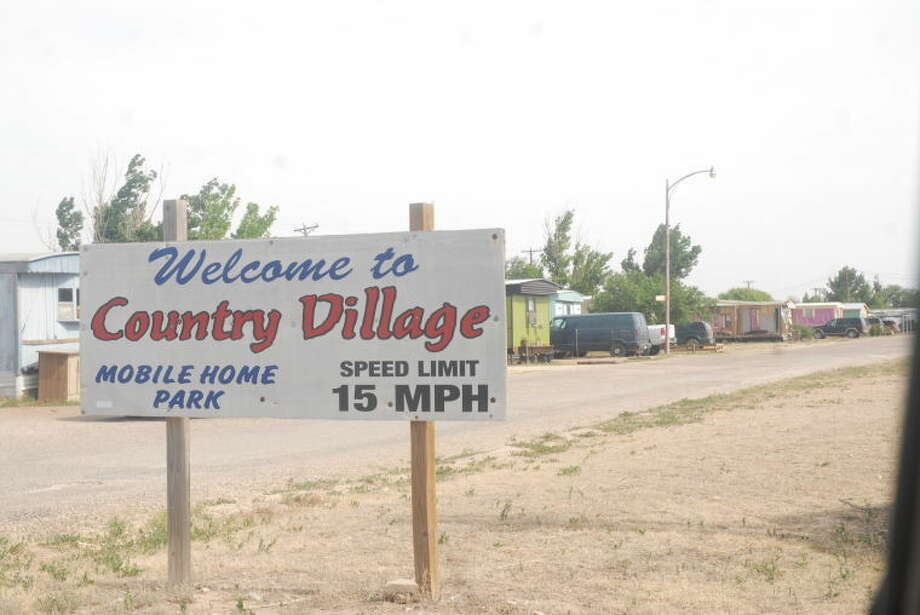Some residents at Country Village Mobile Home Park, on South Business I-27 next to the Texas Department of Transportation, complain of frequent sewer line backups. Most of the complaints apparently involve the north side of the facility. Park officials are working to rectify the issue.