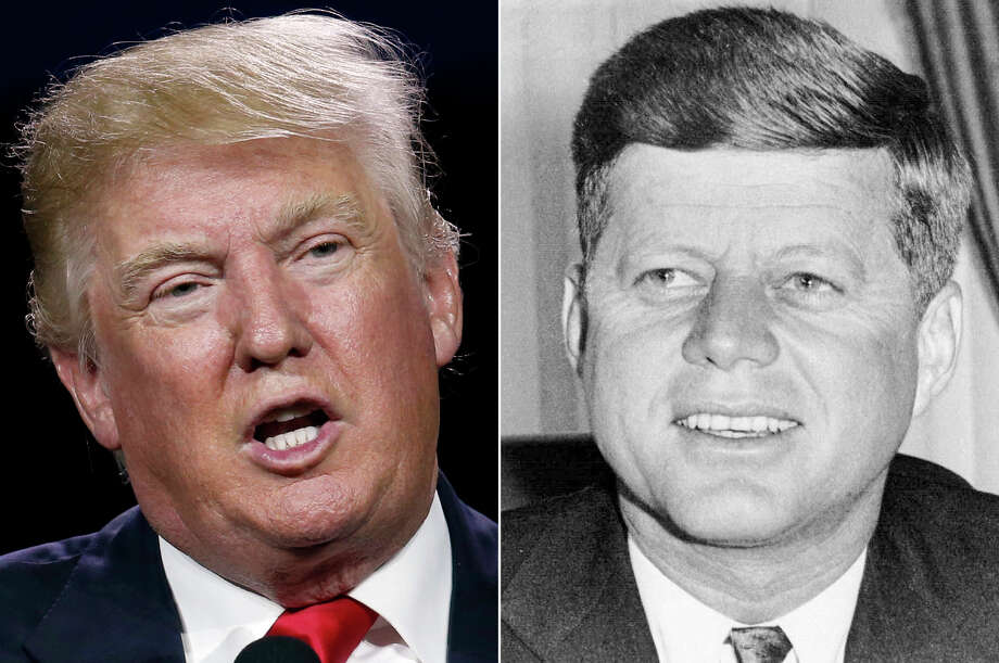 Donald Trump and John F. Kennedy: How alike are they really? Photo: AP Photos