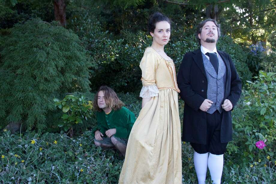 Johnathan Tierney, Isabel Siragusa and John Stephen King in 'Wild Boy.' Photo: Kimberly Wadycki, Dragon Theatre