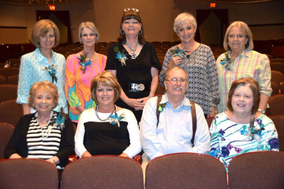 Jan Seago/Plainview ISDPlainview ISD 2013-14 retirees include Maria Sheetz (seated left), Vicki Stokes, Kenneth Sjogren, Leah Dayton, Carrie Hare (standing left), Patsy Hall, Jill Hamby, Linda Strickland and Sandy Smith. Not shown are Susan Blackerby, Kim Mires and Richard Rangel.