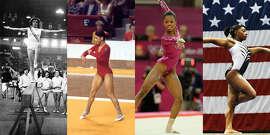 1. A look into the evolution of the gymnastics leotard.