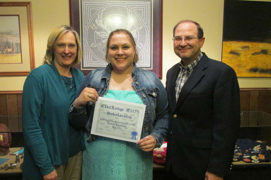 Legacy ScholarshipJana Cannon/Plainview Elks LodgePlainview Elks Lodge #1175 has announced that Kaitlin Lawson (center), daughter of Charles and Melissa Lawson, has been chosen as one of the Elks Legacy Scholarship winners this year. Legacy Awards are $4,000 scholarships ($1,000 per year for four years) for children and grandchildren of Elks members. The Elks National Foundation offered 250 awards, with six going to Texas students. Lawson is a senior at Hale Center High School.