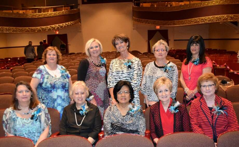 Jan Seago/Plainview ISDPlainview ISD 2014-15 retirees are Michele Neil (seated left) Margaret Rose, Frances Alvarez, Rita Robertson, Neisha Halencak, Gayla Aycock (standing left), Terry Miller, Libby Howard, Judy Dwyer and Darlyne Bothwell.