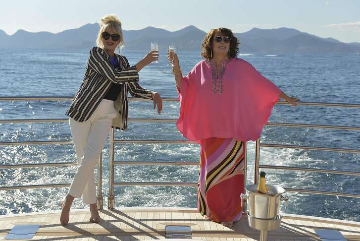 "Joanna Lumley and Jennifer Saunders in ""Absolutely Fabulous."" (Fox Searchlight)"