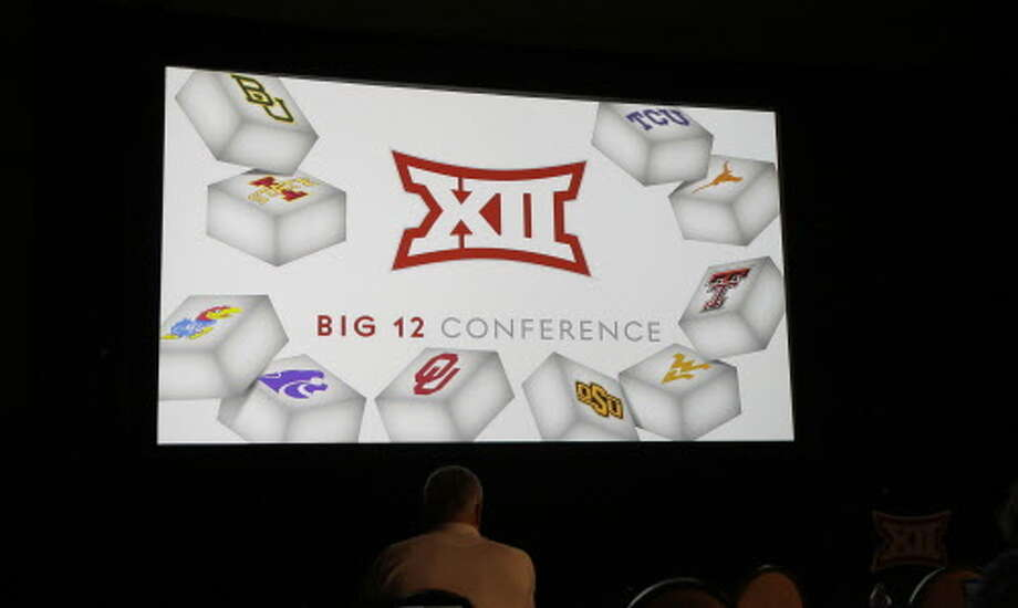 The Big 12 Conference reported another year of record revenue at its spring meetings Friday, with school officials saying it was proof of financial strength. Photo: LM Otero/Associated Press