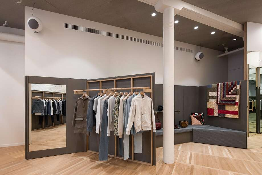 Located in a Jackson Square neighborhood that's quickly turning its storied face toward style — witness neighbors Isabel Marant, Jake, Iron & Resin, Shinola and Eden & Eden — the new store is tucked into the former site of the North Point Gallery in a circa-1873 San Francisco landmark building that has housed  carriage painters, Ghirardelli chocolate, the Petri Italian American Cigar Co. and a paper warehouse. Photo: Photographer: Taiyo Watanabe, Taiyo Watanabe