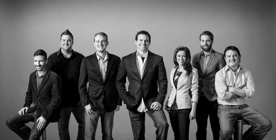 Architect firm, Halo, of Lubbock is made up of Garett Hopper , production manager; Luke Quebe, project captain; Kyle Flusche, architectural intern; Stan Robertson, president; Cassi Wideman, chief operations officer; Aaron Mcmannes, 3D artist; and Jonah AuHoy, project captain. Photo: Courtesy Photo