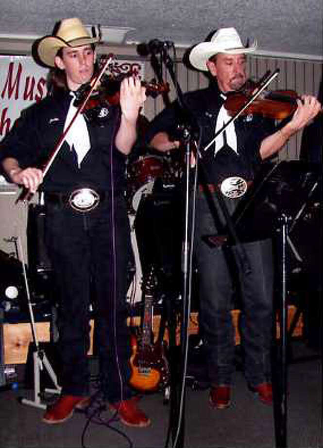 Gary Williams and his son Justin were the first father and son to be inducted into the Western Swing Hall of Fame at the same time. Justin died in 2010 from unexpected heart complications. Photo: Courtesy Photo