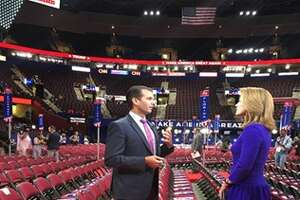 Donald Trump Jr. opens up to CBS News' Norah O'Donnell about Melania plagiarism uproar.