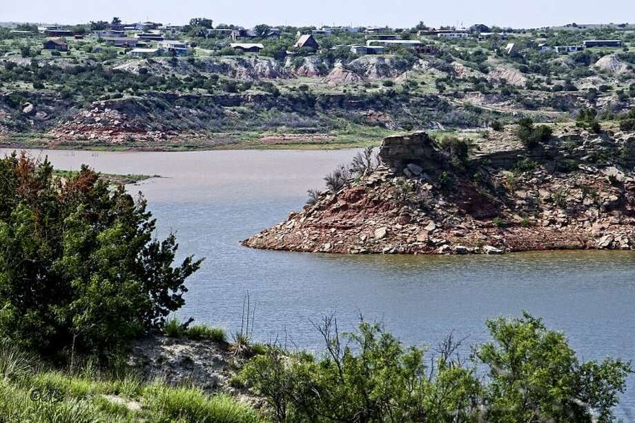 Connie Barnett/Courtesy PhotoRainfall this spring and summer has boosted the water level at Lake Mackenzie, between Tulia and Silverton, more then 8 feet since mid-May. The depth of the lake, shown this weekend, stood at 60.87 feet on Wednesday afternoon.
