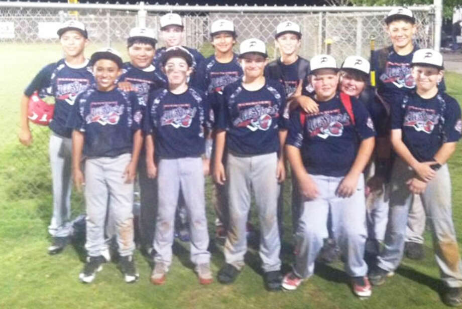 The Plainview Blue 12-year-old all-star baseball team finished third in the state tournament in Seminole this weekend after winning the district championship in Plainview the previous weekend. Members of the team are front row, from left, Matthew Enriquez, Dakota Peterson, Tanner Timms, Austin Williams and Austin Hauk. Second row, from left, Dom Vargas, Mark Garcia and Landry Thornton. Back row, from left, Mitchell Sims, Tyler Rodriguez, Caleb Lusk and Charles Gipson. The team outscored their district opponents 52-11 in winning all four games by at least 10 runs. They finished the postseason with a 6-2 overall record. Photo: Courtesy Photo