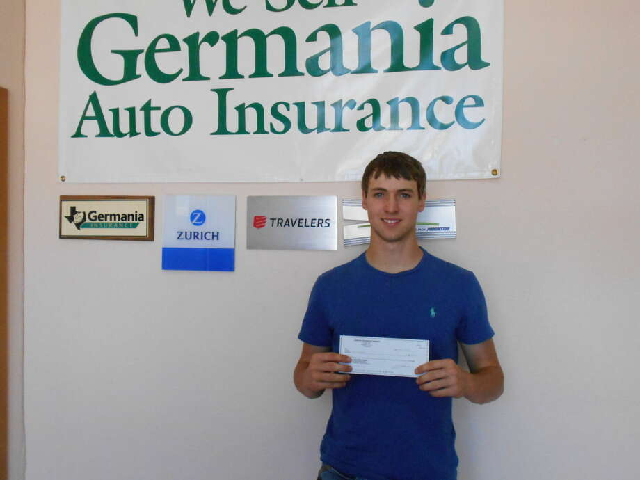 Dodson Insurance Agency has awarded the $500 2015 Germania Chapter 81 scholarship to Kyle Peggram. He will attend McMurry University and major in Physical Education while playing football. Kyle is the son of Germania members Michael and Rosemary Peggram of Plainview.
