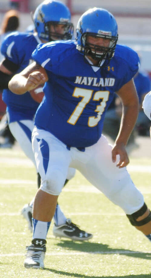 There are many reasons for optimism as the Wayland Baptist University football program heads into its fourth year. Former Plainview High School standout Jacob King returns for his second season as a starter at offensive tackle. He is one of nine starters returning on offense Photo: Plainview Herald File Photo