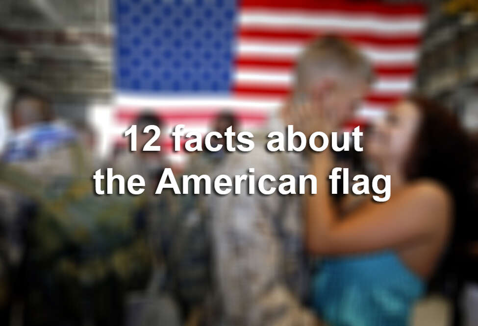 Here are 12 facts about the American flag.