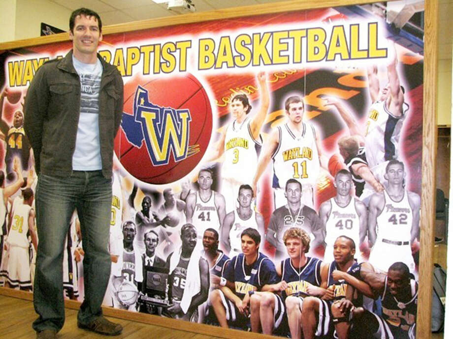 Ty Harrelson will return to Wayland Baptist, where he starred as a player, to be the men's basketball coach for the Pioneers. Photo: Courtesy Photo