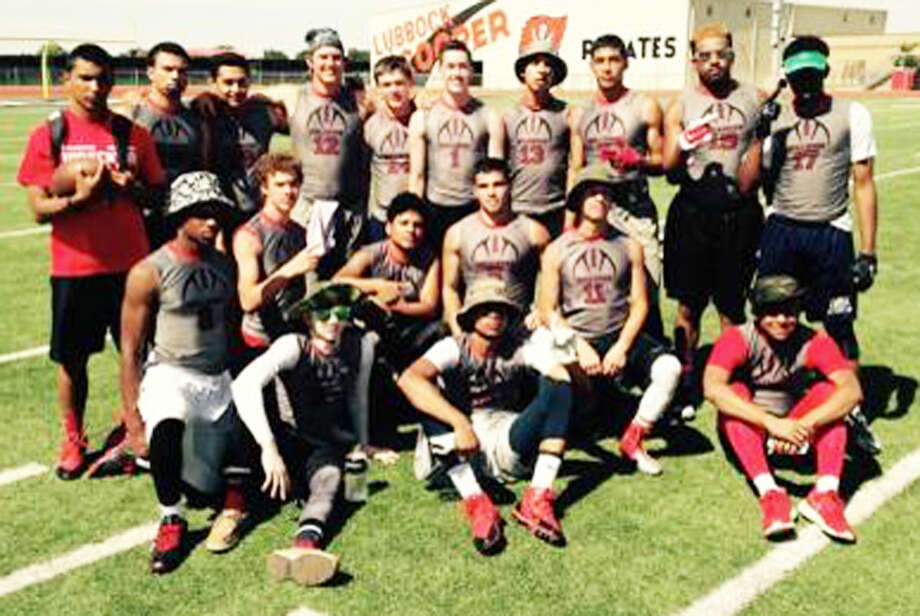 The Plainview High School 7-on-7 football team competed at the Class 5A/6A state championships in College Station. And though the Bulldogs didn't win in four games at their first state tournament, they received good experience playing against other strong football programs. Photo: Courtesy Photo