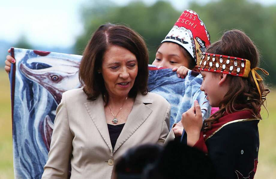 "U.S. Sen. Maria Cantwell, D-Wash:  Cantwell is a champion of programs on the Washington Coast, from weather forecasting to tsunami warning.  She noted, in Trump administration documents, a deep proposed cut in the U.S. Coast Guard.  The cut was nowhere to be seen, however, in budget documents released last week.  ""We don't know yet what it means.  Now they've hidden it.""  Photo: GENNA MARTIN, SEATTLEPI.COM / SEATTLEPI.COM"