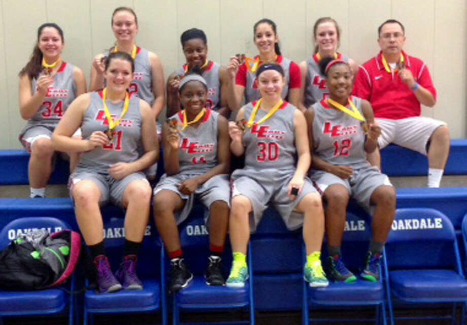The West TX Lady Elite basketball team finished fifth out of 52 teams in the girls varsity division at the Mid America Youth Basketball National Tournament in Oklahoma City earlier this month. Members of the team are front row (from left)Kaylee Edgemon, Brianna Thompson, Jaden Gonzales and Markeyla Hicks. Back row (from left)Brooklyn Gonzales, Britni Parker, Brittany Thompson, Karli Wheeler, Courtney Parker and Head Coach Jeff Gonzales. Photo: Courtesy Photo