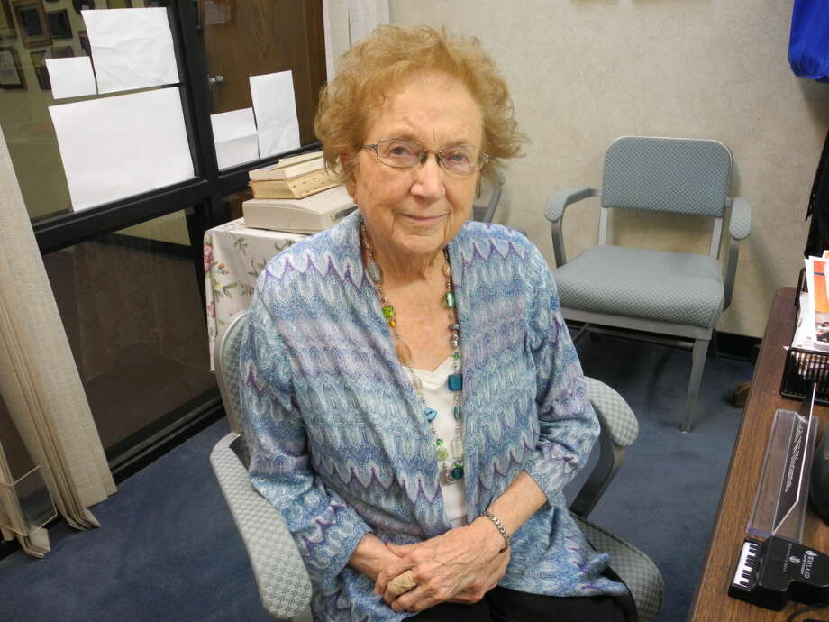 Gail Williams/Plainview HeraldPianist, accompanist and piano teacher Lucy Dean Record keeps a busy schedule at age 90.